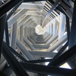 Internal view of Vitruvio Tower